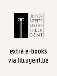 alle ebooks in de UGent collectie